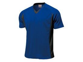 WUNDOU (ウンドウ) ベーシックサッカーシャツ ロイヤルブルー P-1910 1710 メンズ 紳士 男性 サッカー ウェア
