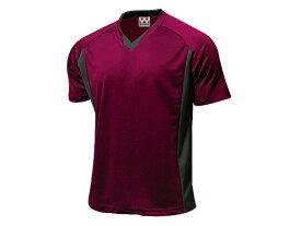 WUNDOU (ウンドウ) ベーシックサッカーシャツ バーガンディー P-1910 1710 メンズ 紳士 男性 サッカー ウェア