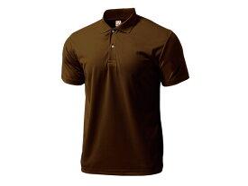 WUNDOU (ウンドウ) ドライライトポロシャツ ブラウン P-335 1710 メンズ 紳士 男性 オールスポーツ ウェア