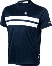 le coq sportif (ルコック スポルティフ) メンズ テニスウェア 半袖シャツ NVY QTULJA31ZZ 1802 メンス 紳士 男性 テニス ウェア Tシャツ