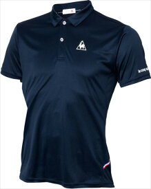 le coq sportif (ルコック スポルティフ) 半袖ポロシャツ NVY QTULJA70ZZ 1802 メンス 紳士 男性 テニス ウェア