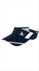 le coq sportif (ルコック スポルティフ) サンバイザー NVY QTALJC01 1805 ユニセックス メンズ レディース テニス キャップ ハット