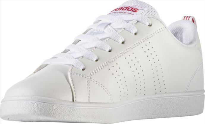 adidas (アディダス) (ジュニア) VALCLEAN2 K バルクリーン2 K BB9976 1808 ジュニア キッズ 子供 子ども カジュアル シューズ スニーカー