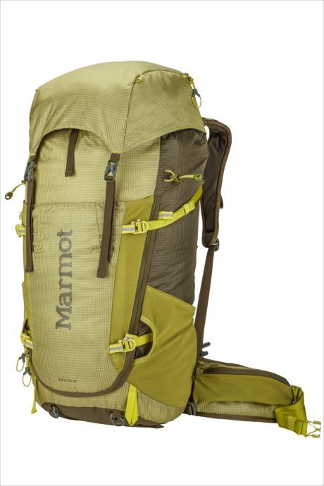 《送料無料》Marmot (マーモット) グラビトン38 シトローネル×オリーブ M7B-S2469A 1809 バッグ バックパック