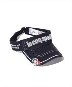 Le coq sportif GOLF メンズ コットンツイルクリップマーカー付きバイザー QG0265 M193 2008 ゴルフ ウェア ルコックゴルフ メンズ