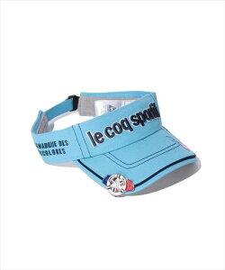 Le coq sportif GOLF メンズ コットンツイルクリップマーカー付きバイザー QG0265 M709 2008 ゴルフ ウェア ルコックゴルフ メンズ