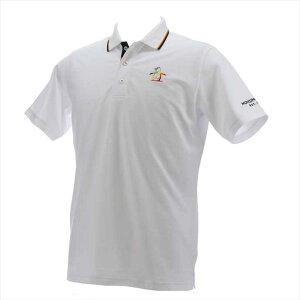 Munsingwear メンズ SUNSCREENペルヴィアンピマ半袖シャツ MGMPJA06 WH00 2102 男性 マンシングウェア 半袖シャツ(ニット)