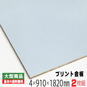 カラープリントボード 薄水色 (A品) 2枚組/約7.6kg