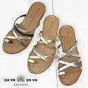 cavacava サバサバ クロスストラップ リゾートサンダル 3460003 レディース 靴 歩きやすい 痛くない cavacava サバサバ あしながおじさ...