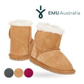 【日本正規品】EMU エミュ エミュー ベビー ムートンブーツ Toddle B10737 ショートブーツ ファー ボア 女の子 男の子 キッズ 子供用 靴【あす楽対応】
