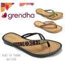 grendha グレンダ GD17336 ACAI IV THONG レディース 靴 ビーチサンダル トングサンダル エスニックサンダル 【あす楽対応】【A50】