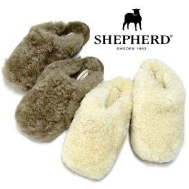 SHEPHERD シェパード ムートンサボ JENNY S3624 シープスキン ボア サンダル ルームシューズ レディース 靴【あす楽対応】【送料無料】【大きいサイズ】