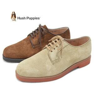 【ポイント10倍】ハッシュパピー M-120FX レースアップシューズ メンズ 靴 カジュアルシューズ ソイソース トウプ スエード レザー 撥水 本革 定番 Hush Puppies 送料無料