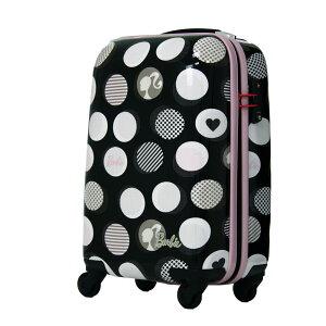 アウトレット セール スーツケース キャリーバッグ キャリー 旅行鞄 小型 機内持ち込み 1泊 2日 2泊 3日 旅行用品 バービー エース かわいい 可愛い B-AE-05751