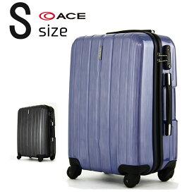 【2000円引きクーポン発行】アウトレット品 少し傷があるので特価 スーツケース キャリーバッグ キャリー 旅行鞄 小型 Sサイズ エース PUJOLS(ピジョール) アイアン AE-05981