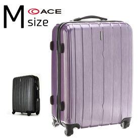 アウトレット品 少し傷があるので特価 スーツケース キャリーバッグ キャリー 旅行鞄 中型 Mサイズ エース PUJOLS(ピジョール) AE-05982