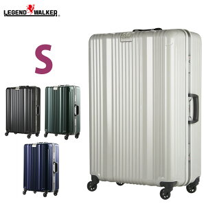 【名前入れ無料!】スーツケース キャリーバッグ キャリーケース メーカー1年修理保証 LEGEND WALKER レジェンドウォーカー 超軽量 〜4日 5日 小型 S サイズ W-6026-58