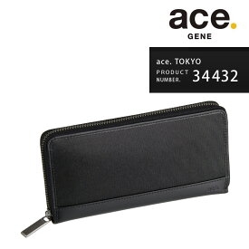 長財布 ace.TOKYO エーストーキョー ウォールコート サイフ ウォレット ナイロンコーデュラ メンズ レディース ユニセックス「AE-34432」