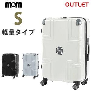 【50%OFF】【名前入れ無料!】アウトレット セール クロスプレート付き スーツケース Sサイズ Wファスナー MODERNISM モダニズム B-M1001-Z58 容量拡張機能 キャリーケース キャリーバッグ ダブル