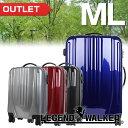 【アウトレット 訳あり】 B-5081-66 スーツケース(LEGEND WALKER:レジェンドウォーカー)MLサイズ(5泊 6泊 7泊)ファスナーキャスター...