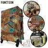 樹幹案例樹幹手提箱 1-3 SS 大小小咖喱攜帶手提箱 7104 43 旅行袋
