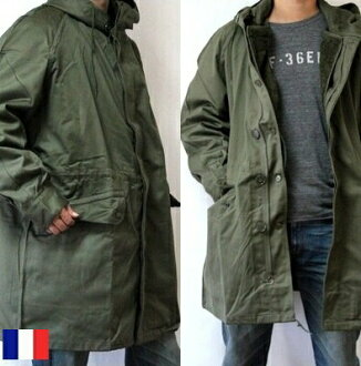 法国军队 m-64 mod 外套 / M64 大衣内衬 w / 军事死股票军队