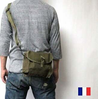 The French military nurse medical Small bag / new article dead stock shoulder BAG / military forces