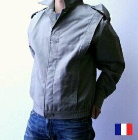 フランス軍 ワーク ブルゾン / ジャケット / デッドストック メンズ ジャケット / 軍 / pd