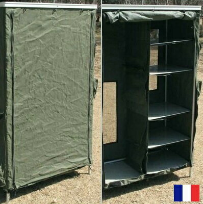 Marvelous France Army Folding Cabinet Outdoor Camping And Army Military