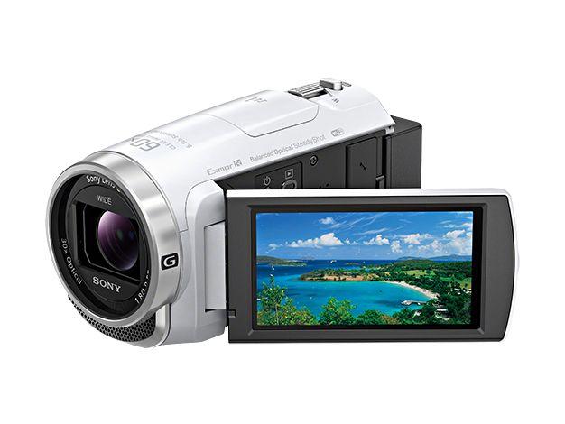 【新品/在庫あり】デジタルHDビデオカメラレコーダー Handycam HDR-CX680-W ホワイト
