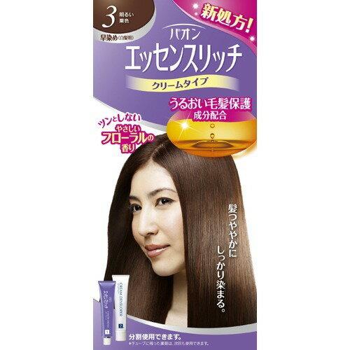 【新品/取寄品】【通販限定】パオン エッセンスリッチ クリームタイプ 3 明るい栗色