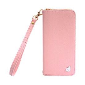 【通販限定/新品/取寄品/代引不可】ドリームプラス iPhone7 ジッパー お財布付きダイアリーケース ピンク DP61767i7 1コ入