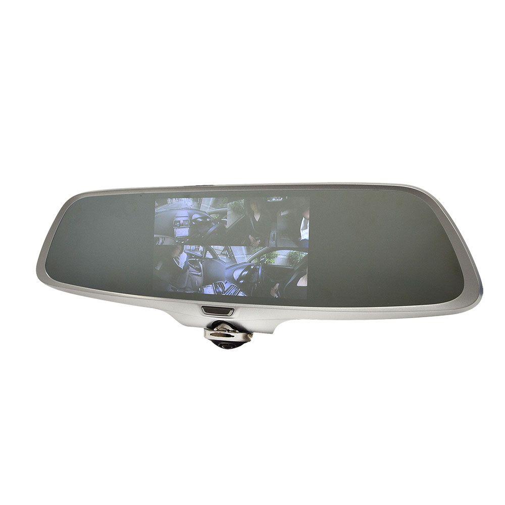 【新品/取寄品/代引不可】ミラー型360度全方位ドライブレコーダー CARDVR36
