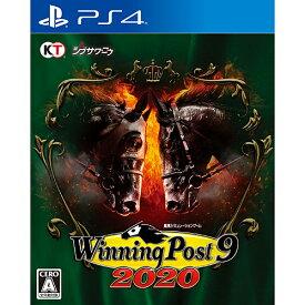 【新品/在庫あり】[PS4ソフト] ウイニングポスト9 2020 [PLJM-16594]