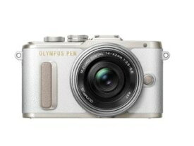 【新品/取寄品】OLYMPUS PEN E-PL8 14-42mm EZレンズキット ホワイト