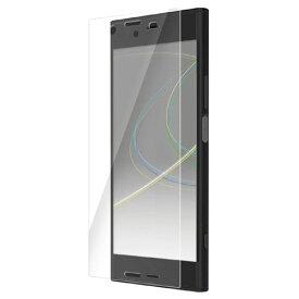 【新品/取寄品/代引不可】Xperia XZ1/液晶フィルム/衝撃吸収/防指紋/光沢 PM-XZ1FLFPG
