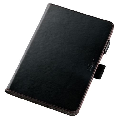 【新品/取寄品】ASUS/ZenPad 3 8.0/ソフトレザーケース/360度回転/ブラック TB-AS581A360MBK