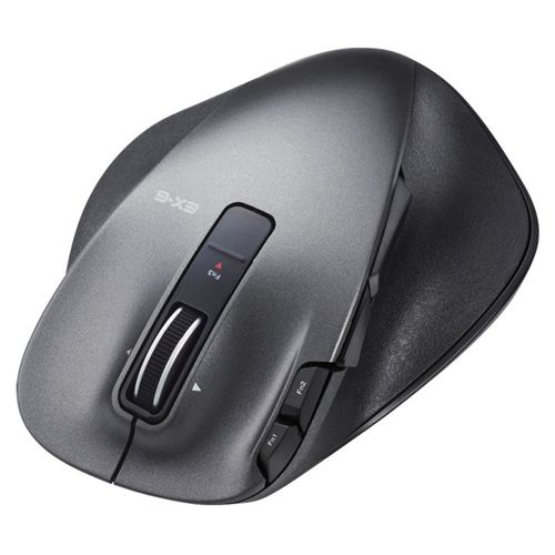 【新品/取寄品】ULTIMATE LASERマウス/握りの極み/Lサイズ/無線/2.4GHz/8ボタン+チルト/ブラック M-XGL20DLBK