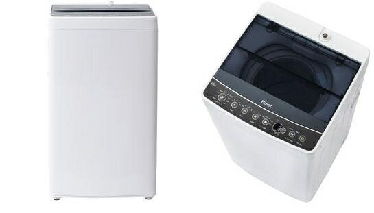 【新品/取寄品】ハイアール 4.5kg 全自動洗濯機 ブラック Haier JW-C45A-K ブラック