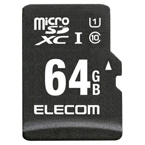 【新品/取寄品/代引不可】microSDXCカード/車載用/MLC/UHS-I/64GB MF-CAMR064GU11A