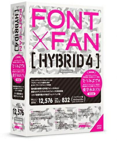 【新品/取寄品/代引不可】FONT x FAN HYBRID 4 FF08R1