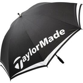【新品/取寄品】TalorMade LNQ94 TM シングルキャノピーアンブレラ 60 B16008 ブラック/ホワイト/レッド