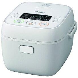 【新品/取寄品】ハイアール マイコンジャー炊飯器(3合炊き) JJ-M32A-W ホワイト Haier Joy Series