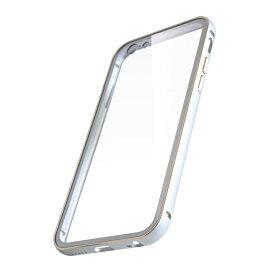 【新品/取寄品/代引不可】iphone6/6S用背面プレート付アルミバンパー シルバー ABBPIP6S(SV)