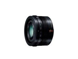 【新品/取寄品】Panasonic LEICA DG SUMMILUX 15mm/F1.7 ASPH. H-X015-K ブラック