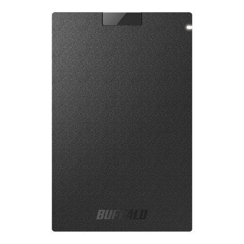 【新品/取寄品/代引不可】USB3.1(Gen1)ポータブルSSD 480GB ブラック SSD-PG480U3-BA