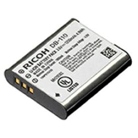 【新品/取寄品/代引不可】RICOH リチャージャブルバッテリー DB-110