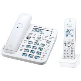【新品/取寄品】パナソニック デジタルコードレス電話機 RU・RU・RU VE-GD56DL-W [ホワイト] [子機1台付き]