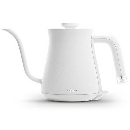 【新品/在庫あり】BALMUDA ステンレス製 電気ケトル The Pot K02A-WH [ホワイト] (600ml)