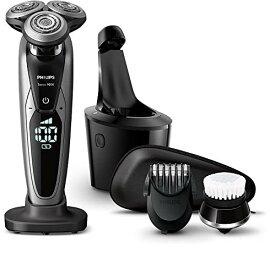 【新品/取寄品】フィリップス 9000シリーズ メンズ 電気シェーバー S9732A/33 72枚刃 回転式 お風呂剃り & 丸洗い可 トリマー・洗顔ブラシ・洗浄充電器付 PHILIPS